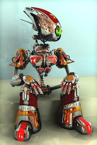 Le robot cool