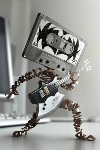 Le robot rockeur